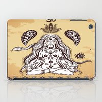 om iPad Cases featuring om by flamenco72