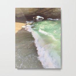 Secret Shores Metal Print