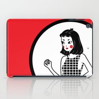 lydia martin iPad Cases featuring Lydia by KITA