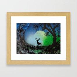 The Deer King Framed Art Print