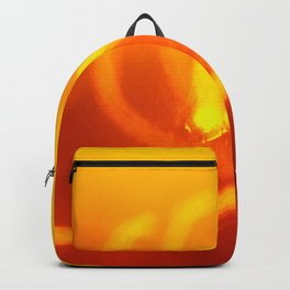 Light trails abstract Backpack