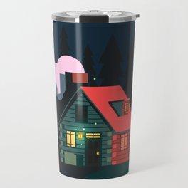 Cabin Home Travel Mug