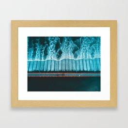 River Crossing - Thailand Framed Art Print