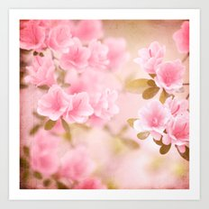 Thinking Springtime Art Print