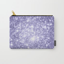 Galaxy Sparkle Dark Lavender Carry-All Pouch