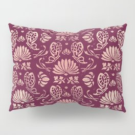 Classic Floral Pattern Pillow Sham