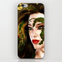 The Dryad of the Forest iPhone Skin