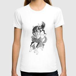 Femme Loup Tattoo T-shirt
