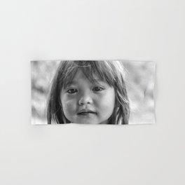 Portrait_The Malaysian borneo native kid Hand & Bath Towel