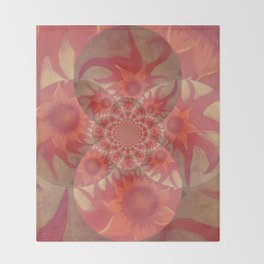 Radiantly Red- Revamped Throw Blanket