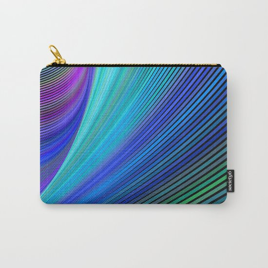 Surfing in a magic wave Carry-All Pouch