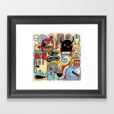 Métroplein Framed Art Print
