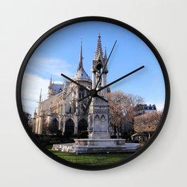 Cathédrale Notre-Dame de Paris Wall Clock