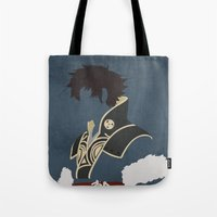 fire emblem awakening Tote Bags featuring Lon'qu / Lonqu Fire Emblem Awakening by MKwon