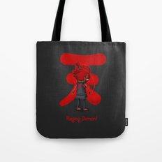 Raging Demon Tote Bag