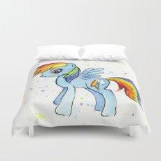 Rainbow Dash MLP Pony Duvet Cover