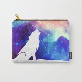 Galactic Wolf Carry-All Pouch