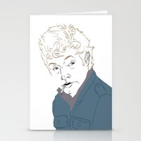 lip Stationery Cards featuring Lip by Nunyah Bidness