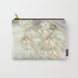 Shimmery Pearly Abalone Shell Carry-All Pouch