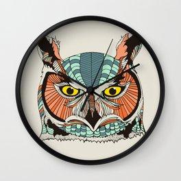 OWLBERT Wall Clock