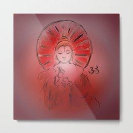 Queer Buddha - Joy III Metal Print
