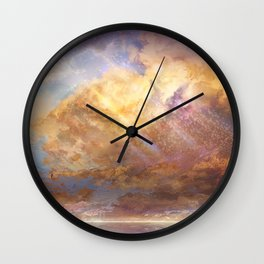 Sky-High Wall Clock