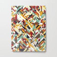 Native Geometric Metal Print