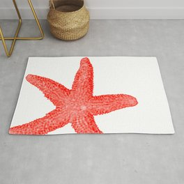 Coral Starfish Rug