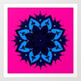 Kids Mandala Art Print