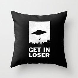 Get In Loser Deko-Kissen