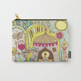 Yogashala by Justine Aldersey-Williams Carry-All Pouch