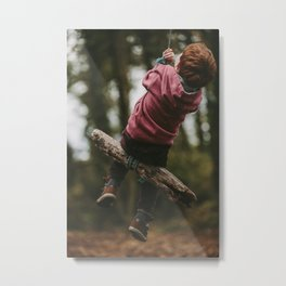 But nothing else Metal Print
