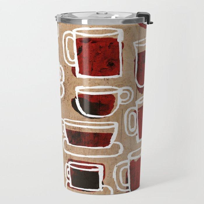 morning pattern Travel Mug