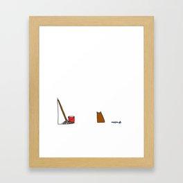 Mop. Framed Art Print