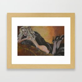 Kate Winslet 1 Framed Art Print