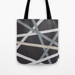 Ticker Tape, Stay Neutral Tote Bag