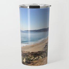 Malibu, California - Coastline Travel Mug