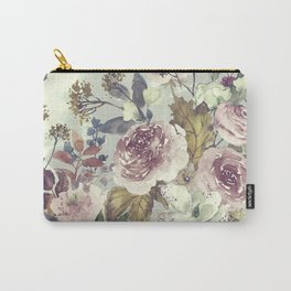 Vintage Garden (Soft Whispers) Carry-All Pouch