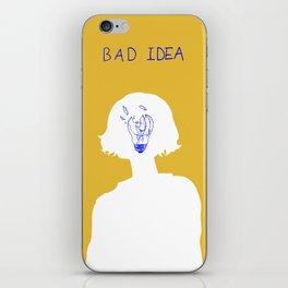 Bad Idea iPhone Skin