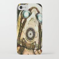 borderlands iPhone & iPod Cases featuring Borderlands Psycho by Joe Misrasi