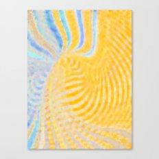 Yellow Magic Canvas Print