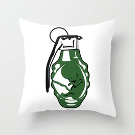*too young to die. Throw Pillow