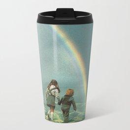 Rainbow of hope Metal Travel Mug