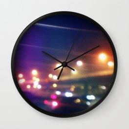 Dark night III Wall Clock