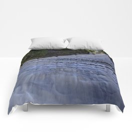 Laughing Whitefish Falls Comforters