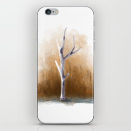 Watercolor Tree iPhone Skin