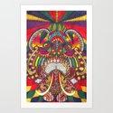 Indian Elephant by bethslocum