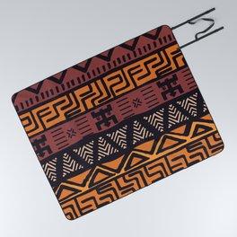 Tribal ethnic geometric pattern 021 Picnic Blanket