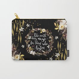 Stars Earth Music Carry-All Pouch