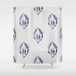 fluo (pattern) Shower Curtain